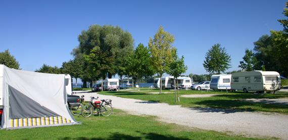 Stellplatz Kategorie A345, © Chiemsee Camping