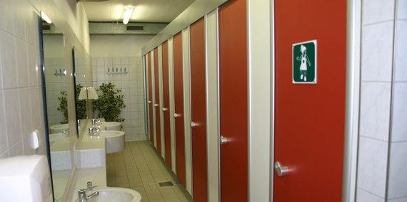 Damen Toiletten, © Chiemsee Camping