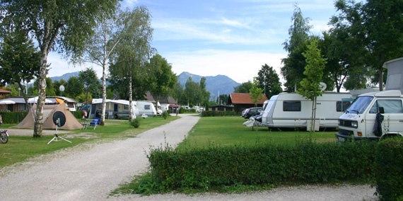Stellplatz Kat A 286, © Chiemsee Camping