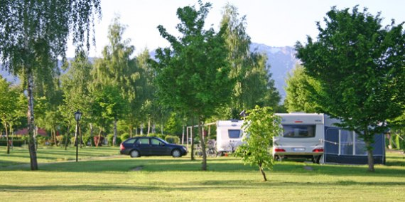 Dauercamping am Chiemsee, © Chiemsee Camping