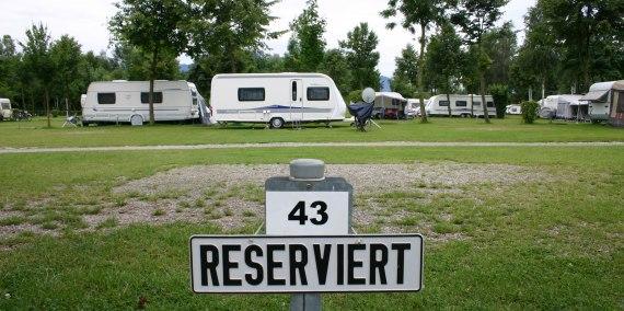 Stellplatzreservierung, © Chiemsee Camping