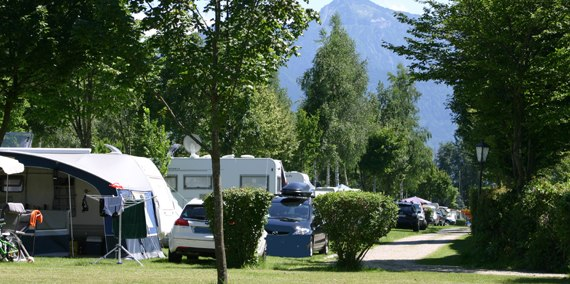 Stellplatz B467, © Chiemsee Camping