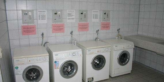 Waschmaschinen, © Chiemsee Camping