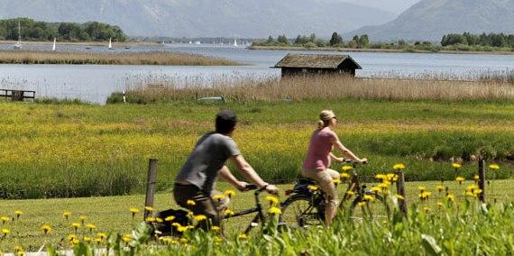 Radfahren, © Chiemgau-Tourismus