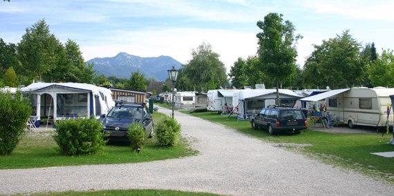 Stellplatz Kategorie A 335, © Chiemsee Camping