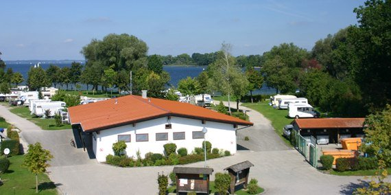 Toilettenhaus See, © Chiemsee Camping